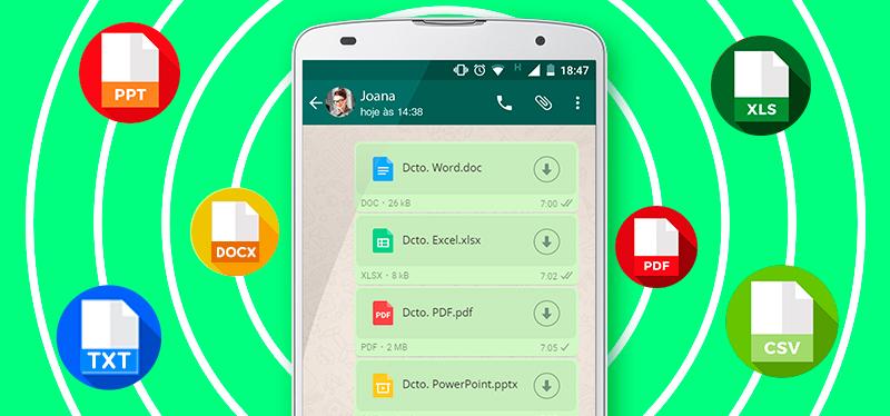 Enviar archivos en WhatsApp Plus